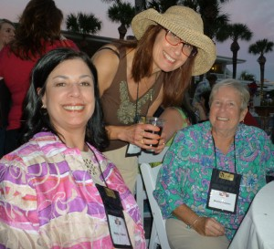 Terry Odell, Nancy J. Cohen and Karla Darcy at the Ninc conference