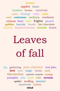 leaves of fall graphic